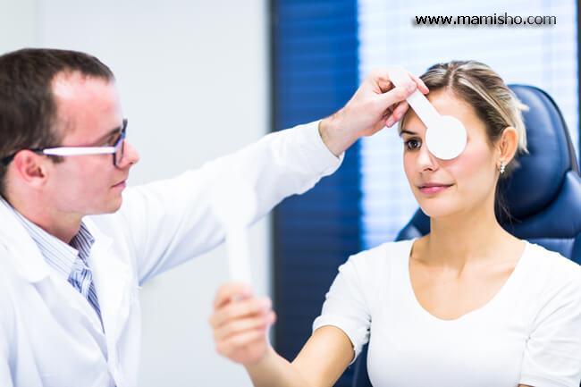 تغییرات چشمی