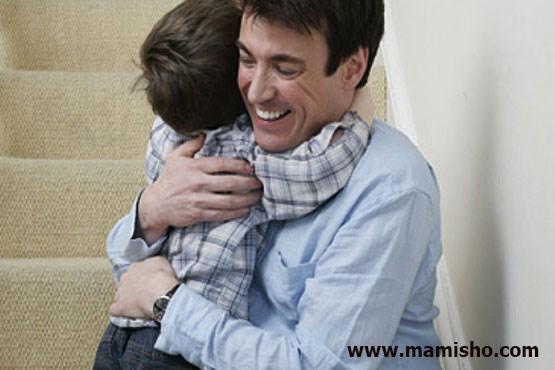 آغوش پدر