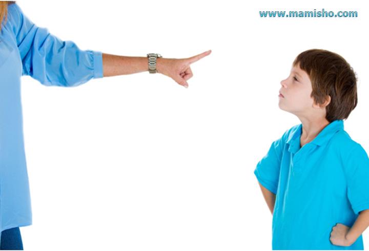 تعارض با کودک