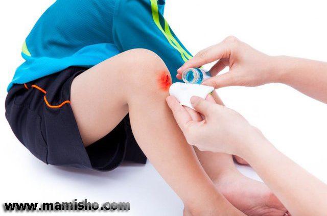 درمان جراحت سطحی