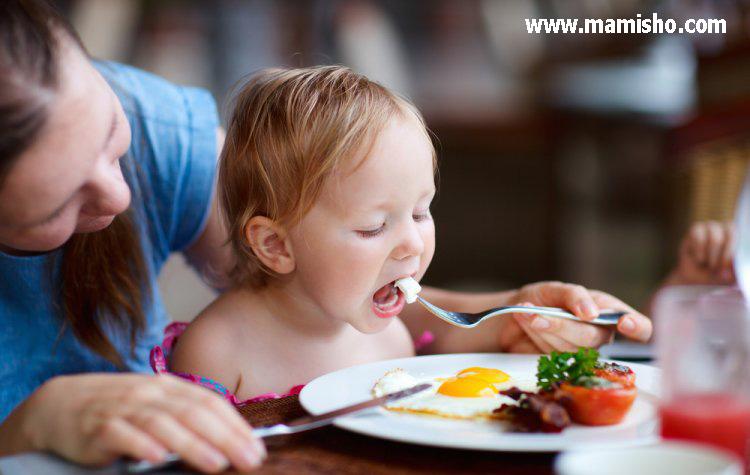 مشکلات غذاخوردن کودکان