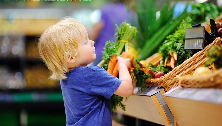 نیازهای غذایی کودکان