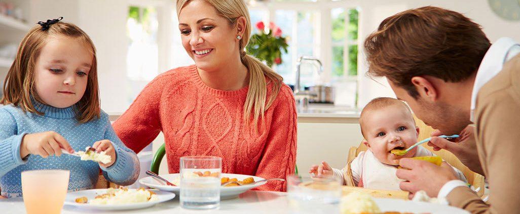 کودک و غذای خانواده