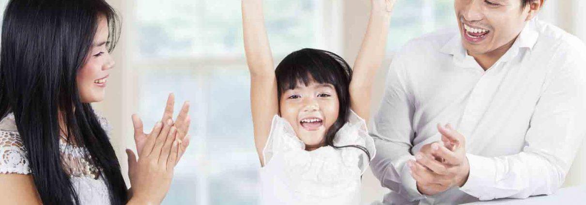 تاثیر تشویق در کودک