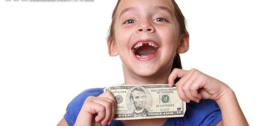 توجه کودکان به ارزش پول