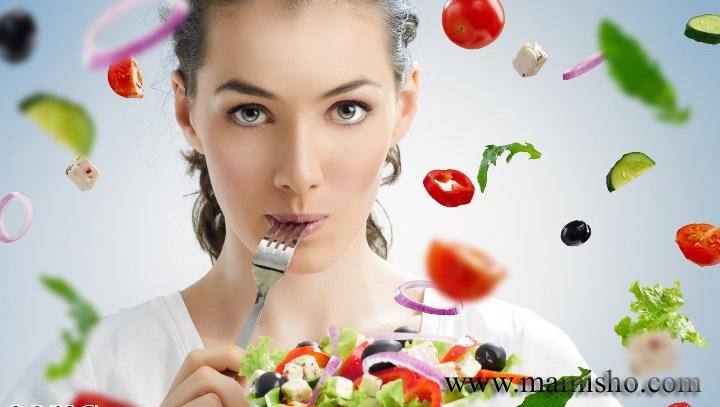 تاثیر میوه و سبزیجات برجنین