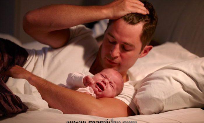 دلایل بدخوابی نوزادان
