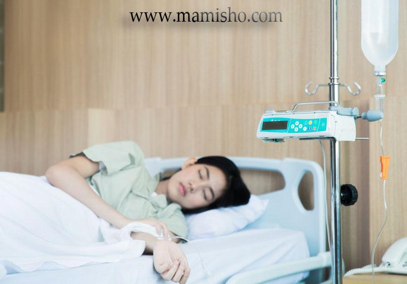 درمان تهوع شدید بارداری