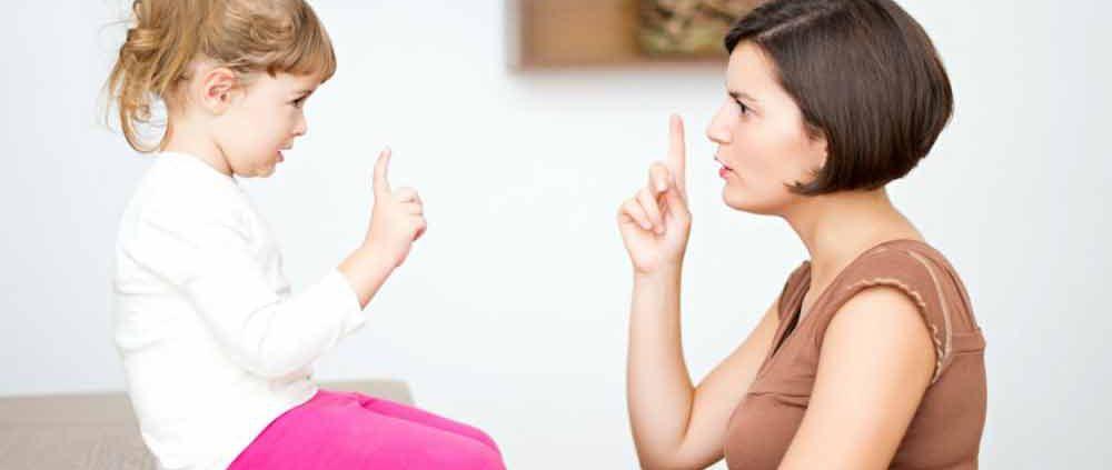 طریقه نه گفتن به کودک